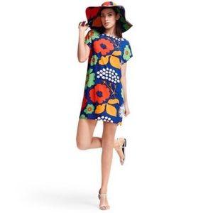 Marimeko floral shift dress❤️